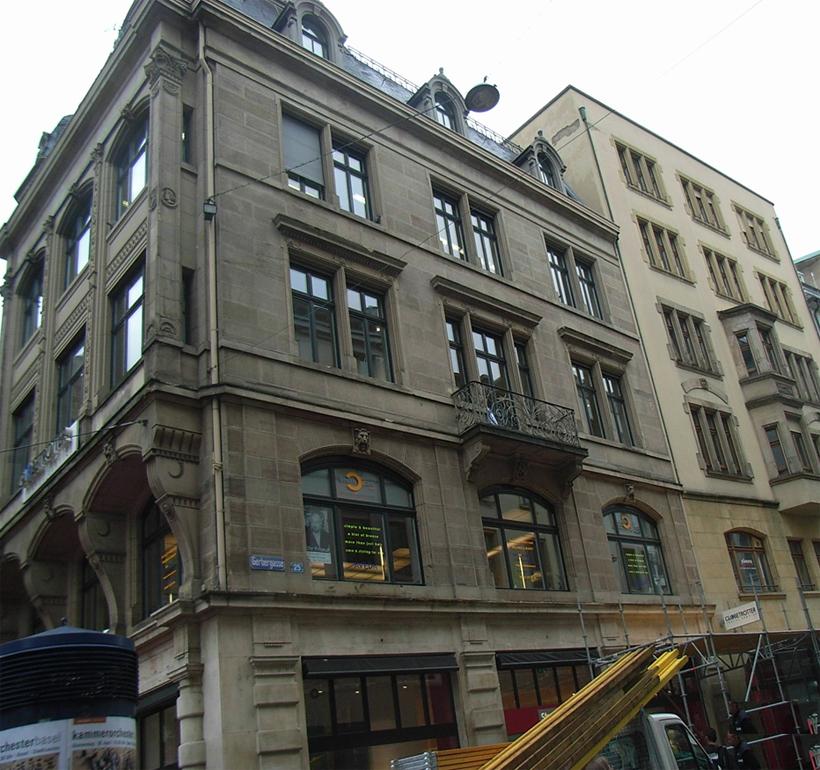 Gerbergasse 25, Basel